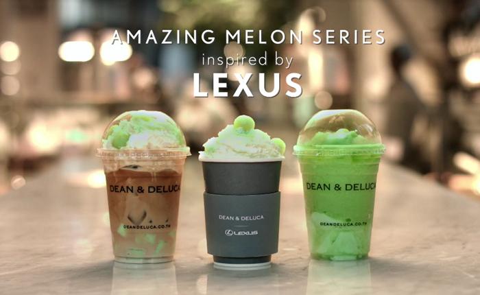 Lexus X Dean & Deluca ครีเอท 3 เมนูกาแฟเมล่อน รสชาติใหม่จาก 2 แบรนด์ดังที่ลองกันได้เฉพาะร้อนนี้