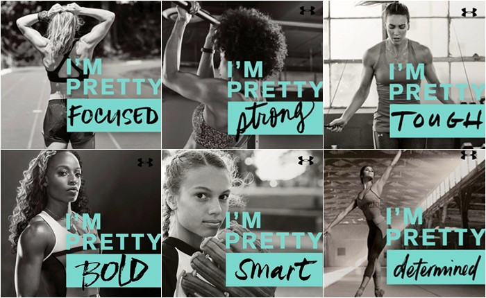 Under Armour ชวนผู้หญิงประกาศความเป็นตัวตนผ่านแคมเปญ #Impretty