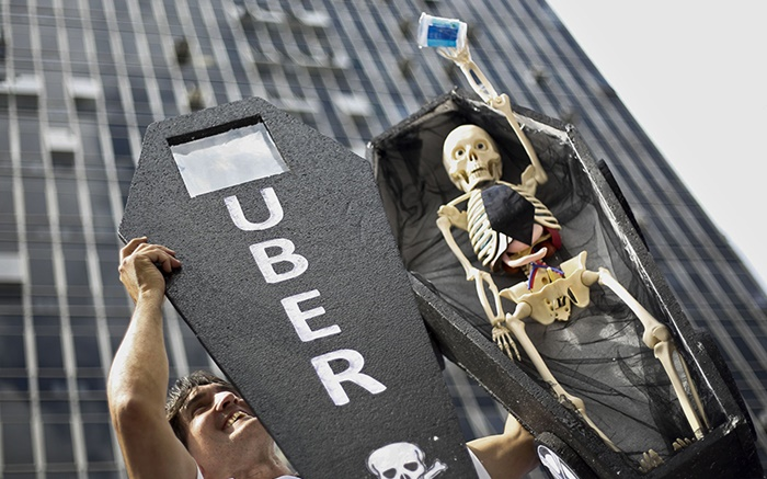 Anti-Uber protests