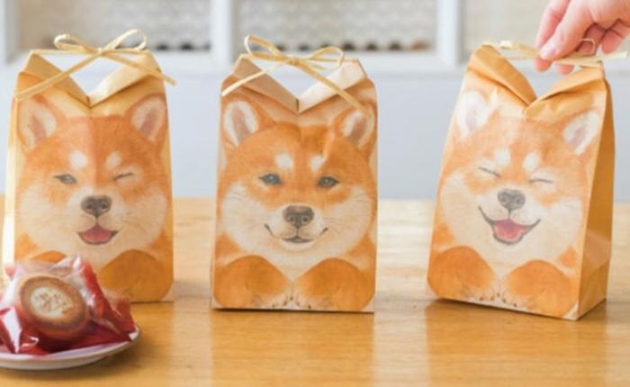 #ตะมุตะมิ ถุงกระดาษ ชิบะ อินุ สุดน่ารัก ใครๆ ก็อยากได้