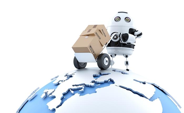 พี่จีนโคตรล้ำ!!! ใช้ระบบหุ่นยนต์บริหารจัดการด้านโลจิสติกส์พัสดุ