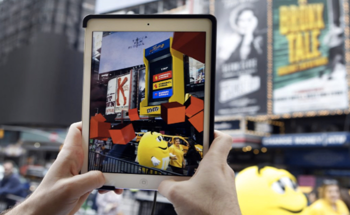M&M จัดอีเว้นท์ใหญ่ใจกลางไทม์สแควร์ ใช้เกม AR โปรโมทรสใหม่ช็อกโกแลตคาราเมล