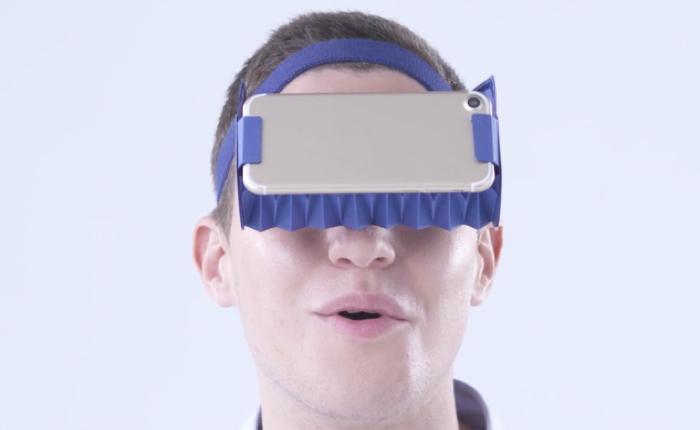 บริษัทโฆษณาญี่ปุ่น ผลิตแว่น VR พับได้ราคาถูก ช่วยแบรนด์สร้างประสบการณ์เสมือนจริงให้ลูกค้า