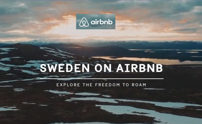 การท่องเที่ยวสวีเดน เปิดทั้งประเทศให้เช่าเที่ยวบน airbnb