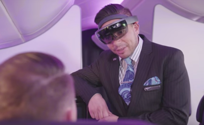 สายการบินนิวซีแลนด์ ให้สจ๊วตใส่แว่น AR ส่องข้อมูลและเช็กอารมณ์ลูกค้า เพื่อบริการที่ถูกใจที่สุด