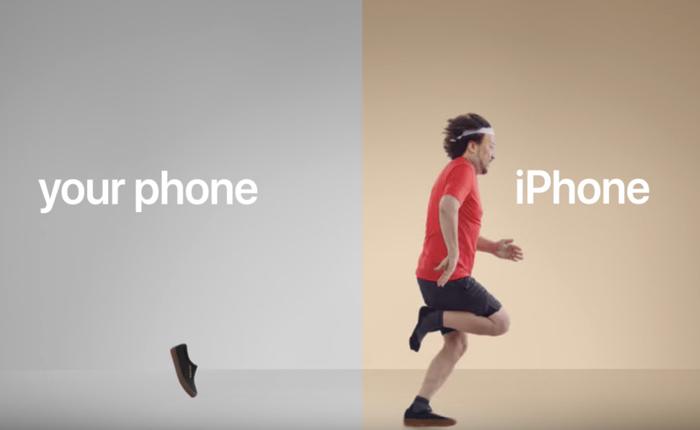 Apple ส่งโฆษณาสุด Minimal โชว์ง่ายๆ ว่า แค่เปลี่ยนมาใช้ไอโฟนชีวิตจะดีกว่าเดิมจริงๆ