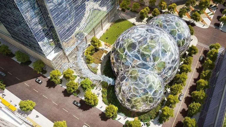 อลังการที่สุด! The Spheres สำนักงานใหม่ของ Amazon นี่ออฟฟิศหรือสวนพฤกษศาสตร์แห่งศตวรรษใหม่กันแน่?