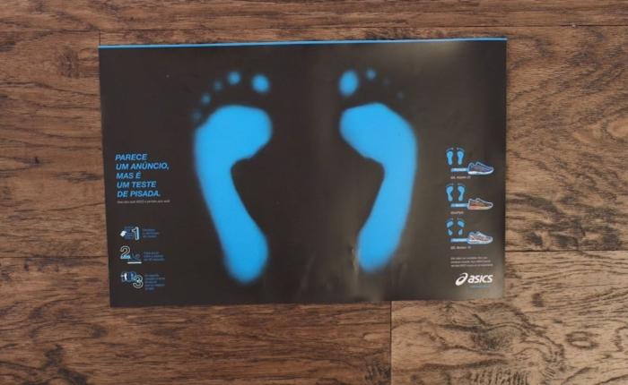 เพียงแค่เหยียบ!! Print Ad อัจฉริยะ ที่ช่วยเลือกรองเท้าวิ่งได้เหมาะสมกับรูปร่างเท้าของคุณ
