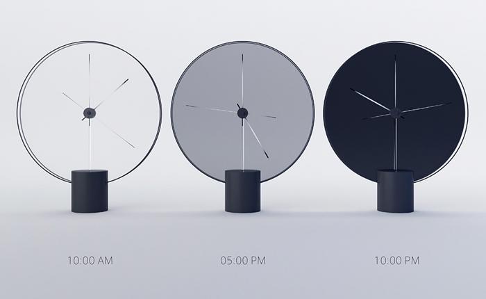 """Time of the Day"" นาฬิกาที่ไม่มีตัวเลข แต่สามารถบอกเวลาและความสว่างของท้องฟ้าได้"