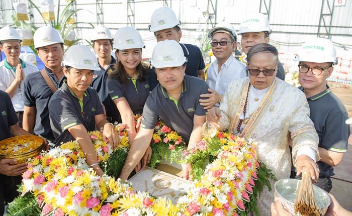 อนันดาฯ วางศิลาฤกษ์ โครงการ ไอดีโอ โมบิ สุขุมวิท 66 พร้อมเดินหน้างานก่อสร้าง