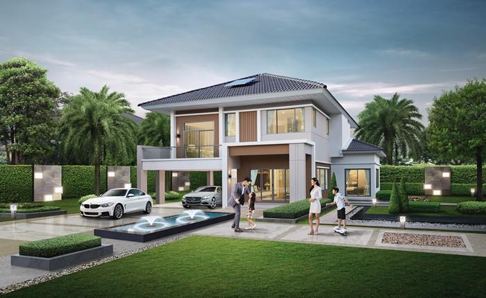 4 วิธีอยู่สบายๆ กับบ้านนวัตกรรม 4.0 จาก Property Perfect ช่วยให้อากาศภายในเย็นขึ้นด้วย Active Airflow