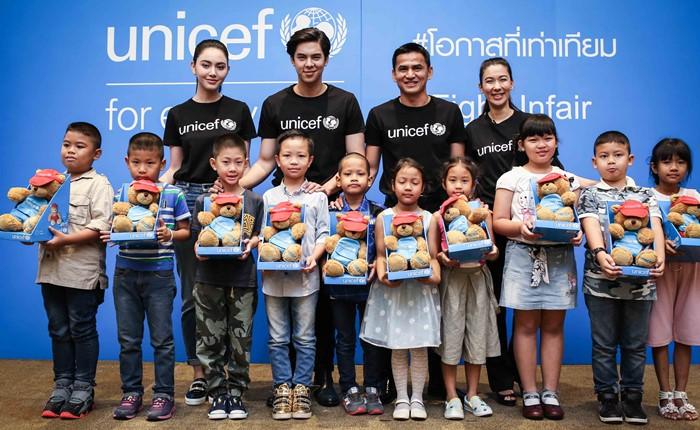 """""""ยูนิเซฟ"""" แต่งตั้ง Friends of UNICEF คนใหม่ """"หนูดี-ซิโก้-พีช-ใหม่"""" พร้อมรณรงค์ #โอกาสที่เท่าเทียม เพื่อเด็กทุกคน"""