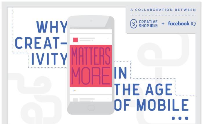 """[Infographic] Facebook เผยข้อมูล """"ทำไมความสร้างสรรค์จึงสำคัญเหนือสิ่งอื่นใดในยุคโมบาย"""""""