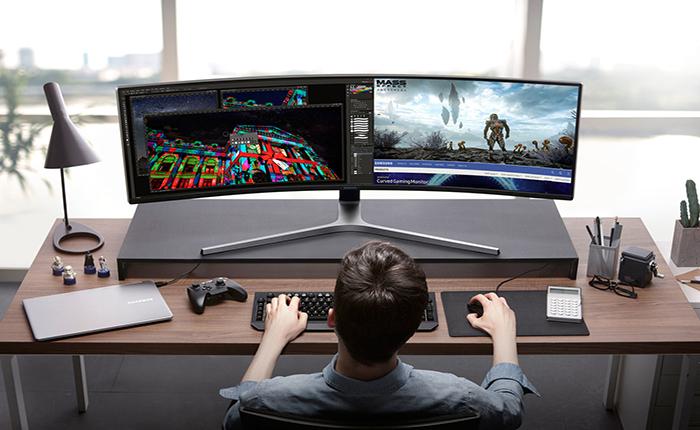 โอ้โห!!! ซัมซุงเปิดตัวมอนิเตอร์จอยาวปรื๊ด เจาะนักเล่นเกม คนทำงาน