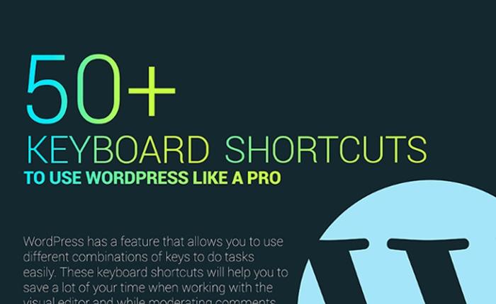 รวม 50 คีย์ลัด ใช้ WordPress ให้ได้อย่างมือโปร
