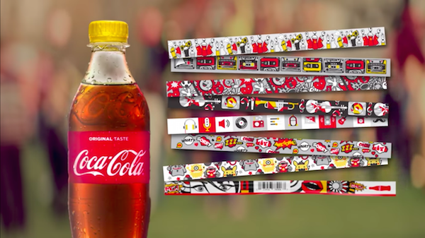 2-Coca-Cola-Festival-Bottles-Wristbands-Product-Packaging-Design-Creativity