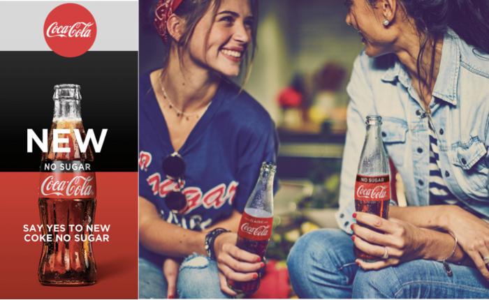 โละแล้ว Coke Zero! เปลี่ยนชื่อใหม่ชัดๆไปเลย Coca-Cola No Sugar รสเข้มไร้น้ำตาล