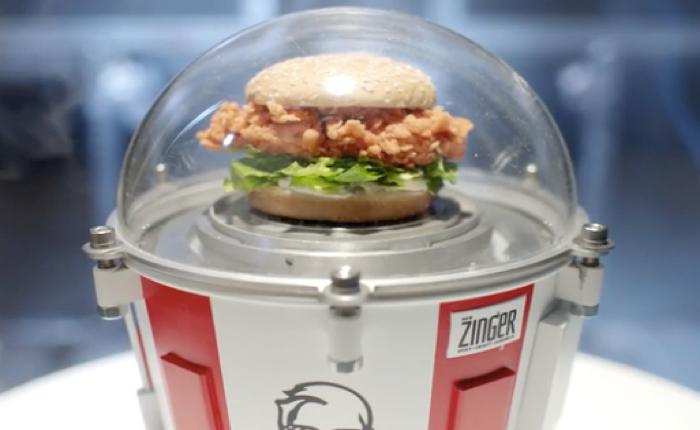 KFC ชวนคนทั้งโลกนับถอยหลัง วันที่เอาเบอร์เกอร์ลอย 80,000 ฟุตสู่อวกาศ