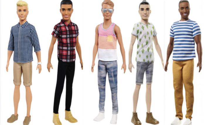 """ถึงคราวที่ของเล่นตุ๊กตาบาร์บี้ จะอัปเกรดลุคส์ """"หนุ่มเคน"""" ให้ดูทันสมัย ชวนให้สาวๆ กรี๊ดสลบ"""