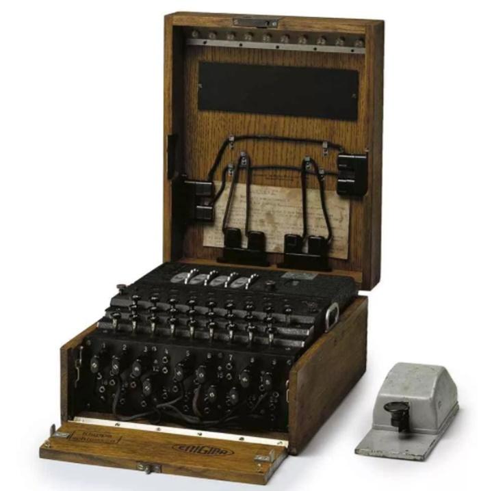 A Four-Rotor Enigma Machine ถูกประมูลไป 19 ล้านบาท