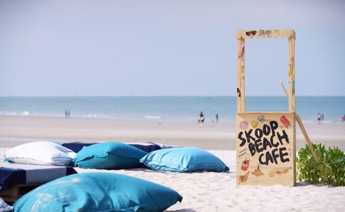 เตรียมเช็คอิน Skoop Beach Café Hua-Hin คาเฟ่สุดชิคแห่งใหม่ริมทะเลหัวหิน