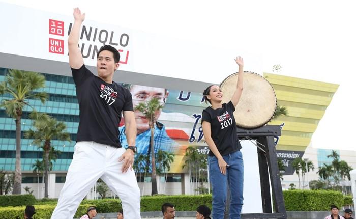 ยูนิโคล่ใส่ใจสุขภาพของคนไทยอย่างต่อเนื่อง จัดงานวิ่ง UNIQLO RUN 2017