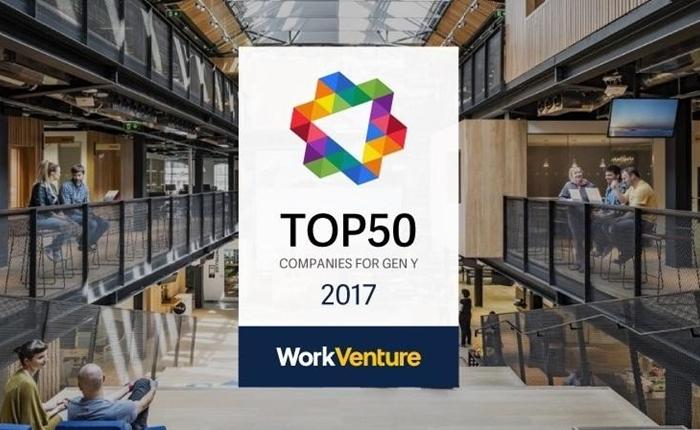 เผย 50 บริษัทที่กลุ่มคนรุ่นใหม่อยากทำงานด้วยมากที่สุดในปี 2017
