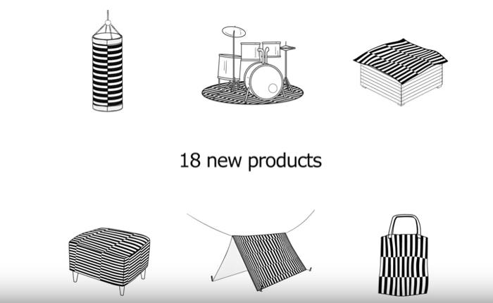 IKEA สอนทริคเก๋ๆ ให้ลูกค้าเอาพรมเก่าไปรีไซเคิลทำเป็นผลิตภัณฑ์ใหม่ได้อีกเยอะ