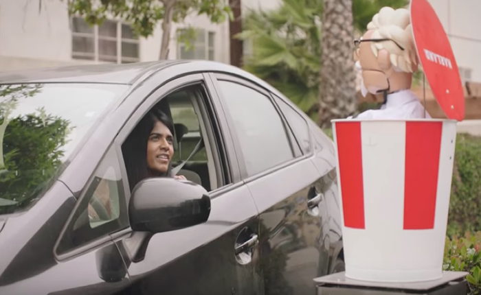 KFC ฉลองวันชาติ ออกหุ่นกระบอก AI รับออเดอร์อาหารผ่านช่อง Drive Thru