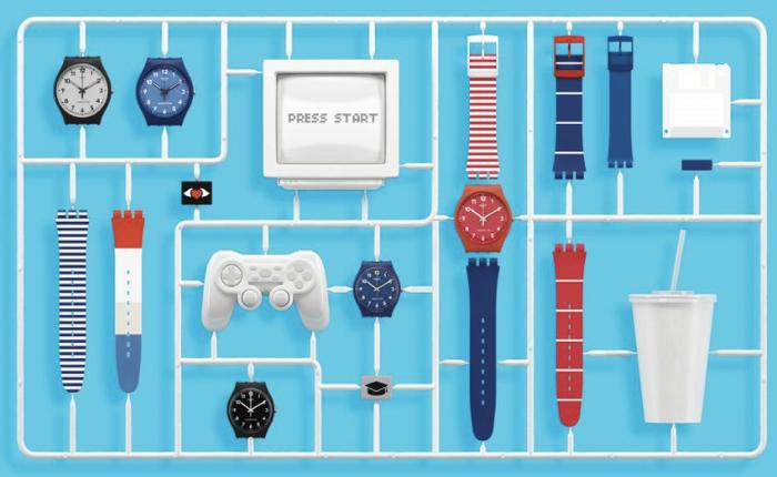 นาฬิกา Swatch ปรับเข้าสู่ยุค Customization เปิดลูกค้าให้วัยทีนออกแบบนาฬิกาออนไลน์ด้วยตัวเอง