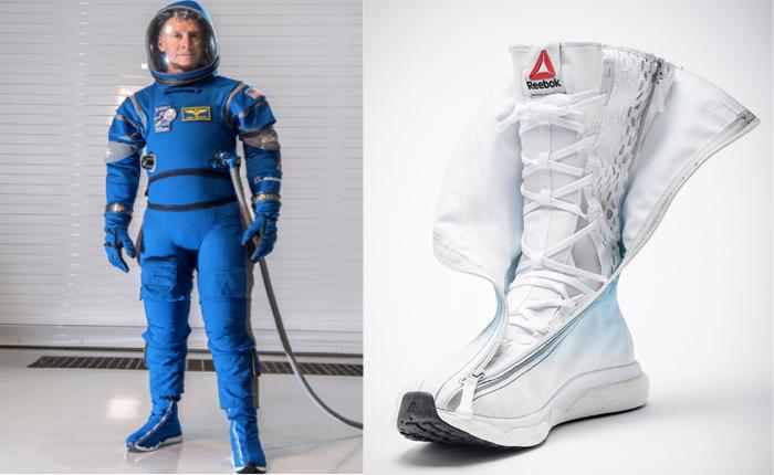Reebok ล้ำทะลุโลกสร้างรองเท้าบูทสุดเบา เข้ากับชุดอวกาศรุ่นใหม่ที่สุดเท่