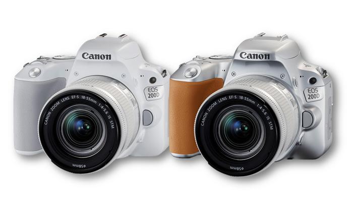 Canon EOS 200D กล้อง DSLR รุ่นใหม่ดีไซน์เก๋จากแคนนอน สร้างสรรค์ภาพถ่ายได้ดังใจ