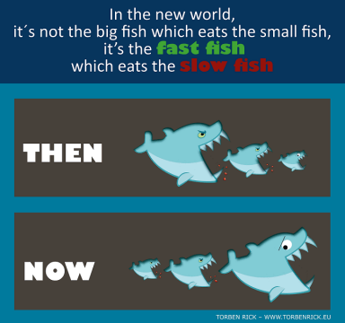 Fast-fish-which-eats-the-slow-fish-Disruptive