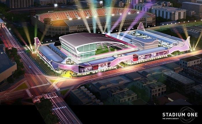"""ปลุกชีพตำนานหลังสนามศุภฯ """"Stadium One"""" แลนด์มาร์คใหม่ของชาวกรุงเทพฯ ที่รักการออกกำลังกาย"""