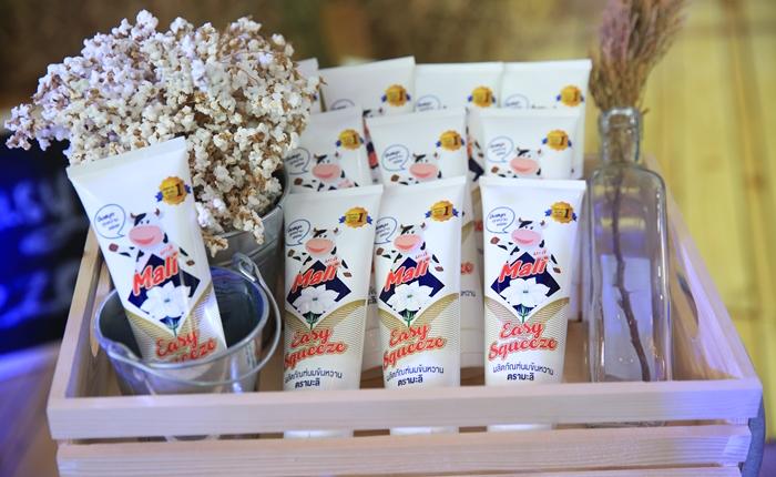 """มะลิ เขย่าตลาดนมข้นหวาน เปิดตัว """"มะลิ อีซี่ สควีซ"""" นมข้นหวานแบบหลอดบีบ ครั้งแรกในไทย เอาใจคนรุ่นใหม่"""
