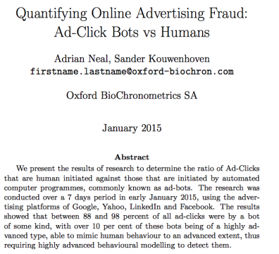 ที่มา https://oxford-biochron.com/downloads/OxfordBioChron_Quantifying-Online-Advertising-Fraud_Report.pdf