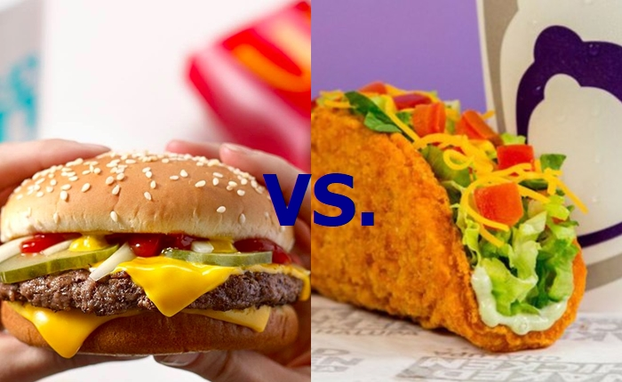 McDonald's VS. Taco Bell เปิดสงครามเดลิเวอรี่ กับเทิร์ดปาร์ตี้ที่เลือกข้าง ใครจะเป็นฝ่ายเพลี่ยงพล้ำ