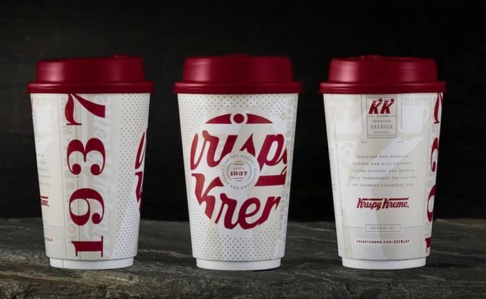 Krispy Kreme พลิกโฉมดีไซน์แก้วกาแฟใหม่ ที่สื่อถึงความอบอุ่น