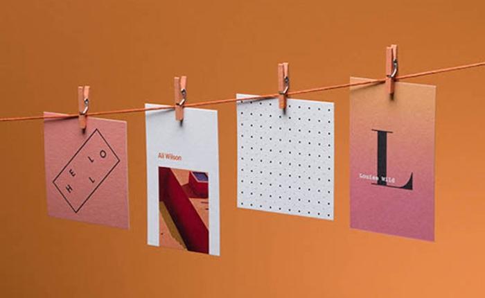 นามบัตรจากผ้าฝ้าย ไอเดียสุดสร้างสรรค์ที่มาจากการรีไซเคิลเศษผ้า