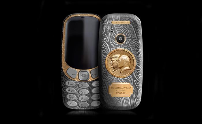 """แค่นี้ก็ได้แล้ว!!!…Nokia 3310 รุ่นพิเศษ """"สุดยอด 2 ผู้นำโลก"""""""