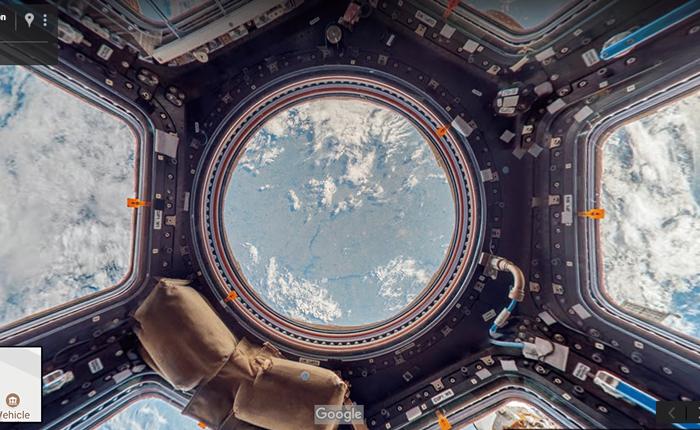 ไปเที่ยวกัน Google Street View พาชมภาพชมสถานีอวกาศ ISS