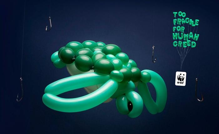 ชวนดู Print Ads จาก WWF เพราะสัตว์เหล่านี้เปราะบาง เราจึงต้องช่วยกันอนุรักษ์ไว้