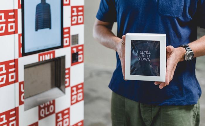 Uniqlo ออกตู้ขายเสื้อผ้ากันหนาวอัตโนมัติที่สนามบิน ดึงดูดใจลูกค้าชาวมะกัน