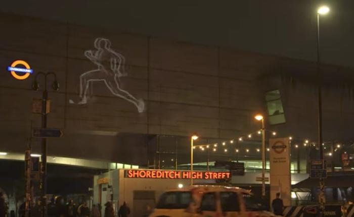 Virgin Media ส่งโฆษณา AR แบบอินเตอร์แอคทีฟฉายภาพการวิ่งครั้งสุดท้ายของเจ้าลมกรด Usain Bolt