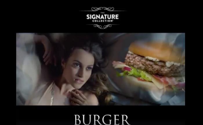 """แมคฯ สลับลุคส์ ส่งโฆษณาสุดเว่อร์วัง โปรโมทเมนูเบอร์เกอร์พรีเมี่ยม """"Signature Collection"""" ในอังกฤษ"""
