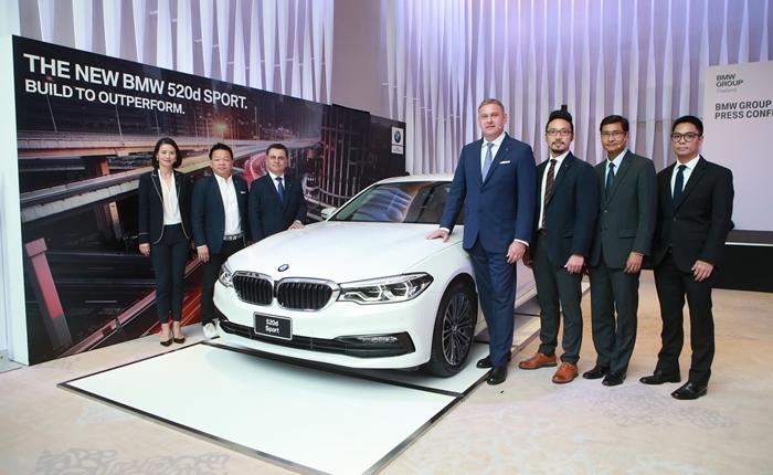 บีเอ็มดับเบิลยู ประเทศไทย เปิดตัวโปรแกรมบริการหลังการขายรูปแบบใหม่ล่าสุด พร้อมเปิดตัวรถยนต์บีเอ็มดับเบิลยู 520d Sport