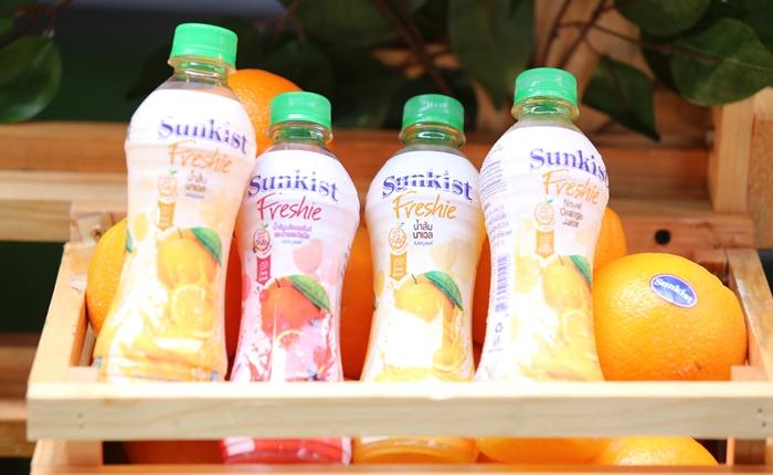 """#ชีวิตส้มระดับโลก V Foods เปิดตัวน้ำส้ม """"Sunkist"""" ลุยตลาดเครื่องดื่มไทยอย่างเป็นทางการ"""