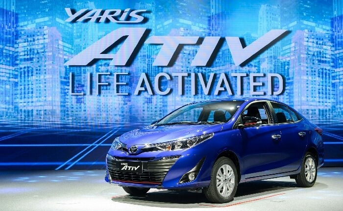Yaris ATIV หนึ่งเดียวในตลาดรถยนต์ซับคอมแพคที่ให้ Option แบบจัดเต็ม