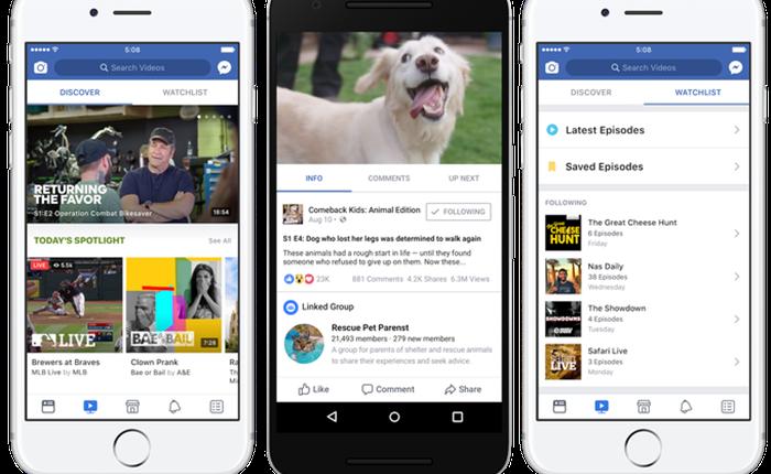 Netflix, Youtube จะหนาวไหม เมื่อ Facebook เปิดบริการใหม่ WATCH ผลักดันให้สร้างออริจินัล วิดีโอ โชว์ได้