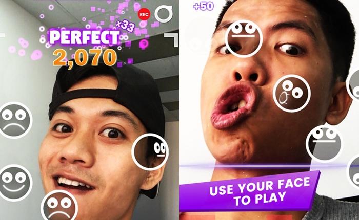 FaceDance Challenge! เกมฮิต เปลี่ยนกล้องหน้าให้เป็นตู้เกม มั่นหน้าแค่ไหนแคปตอนเล่นมาให้ดูว์